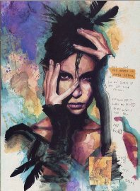 Maya Lopez a.k.a. Echo, Art by David Mack