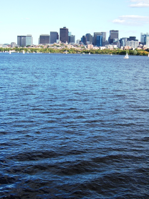 Boston, view from Cambridge -- Foto: Not quite like Beethoven, all rights reserved