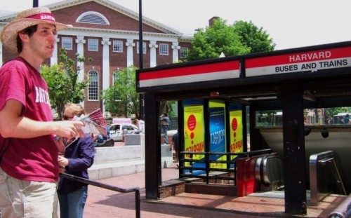 Harvard Square, Foto: Not quite like Beethoven, all rights reserved