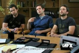 Foto: It's always sunny in Philadelphia / screenshot via hulu.com