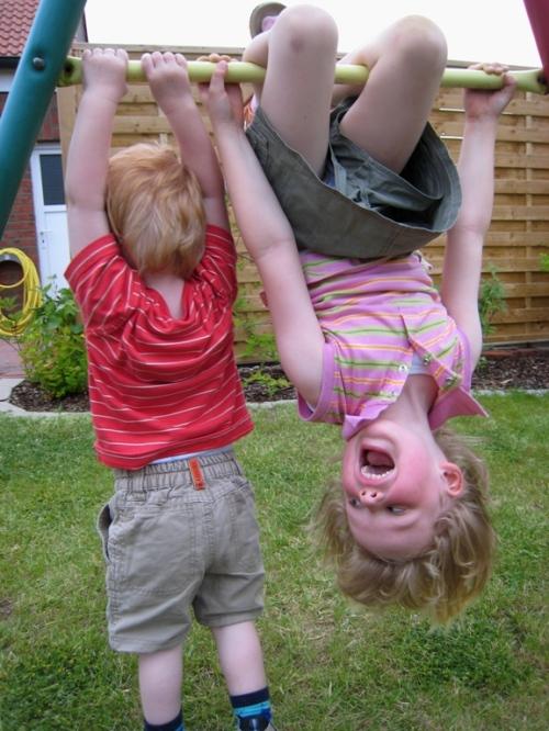 Kinder beim Spielen, Foto by Torsten-Schröder / pixelio.de