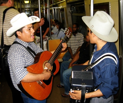 Music on the Subway -- Photo by Ryan Gessner, some rights reserved