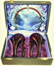 Celluloid Auricles, Photo by kind permission of HearingAidMuseum.com