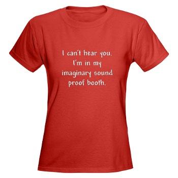Bedrucktes T-Shirt von CafePress